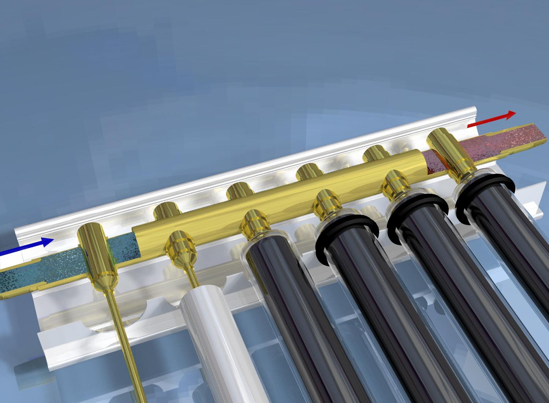 Солнечный коллектор вакуумные трубки своими руками